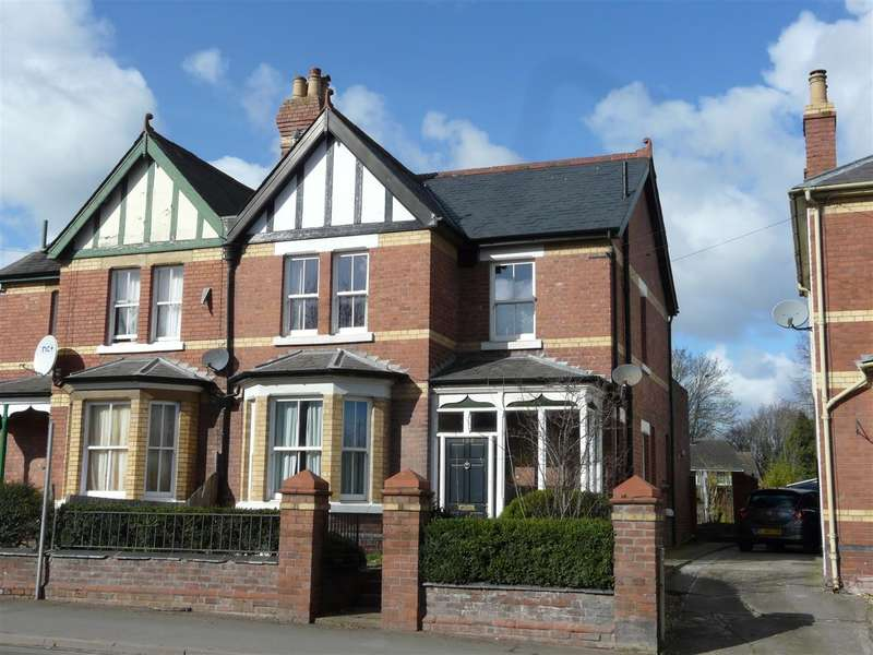 3 Bedrooms Semi Detached House for sale in Belmont Road, Hereford, HR2