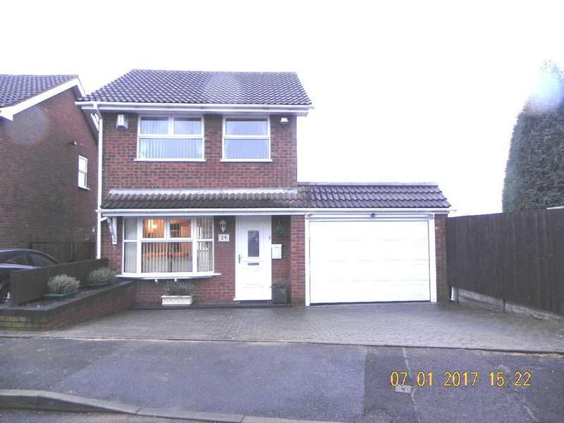3 Bedrooms Detached House for sale in Lintley, Wilnecote, B77 4LN