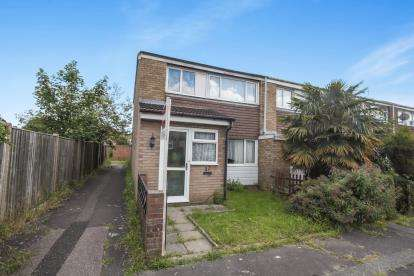 3 Bedrooms End Of Terrace House for sale in Sylam Close, Luton, Bedfordshire