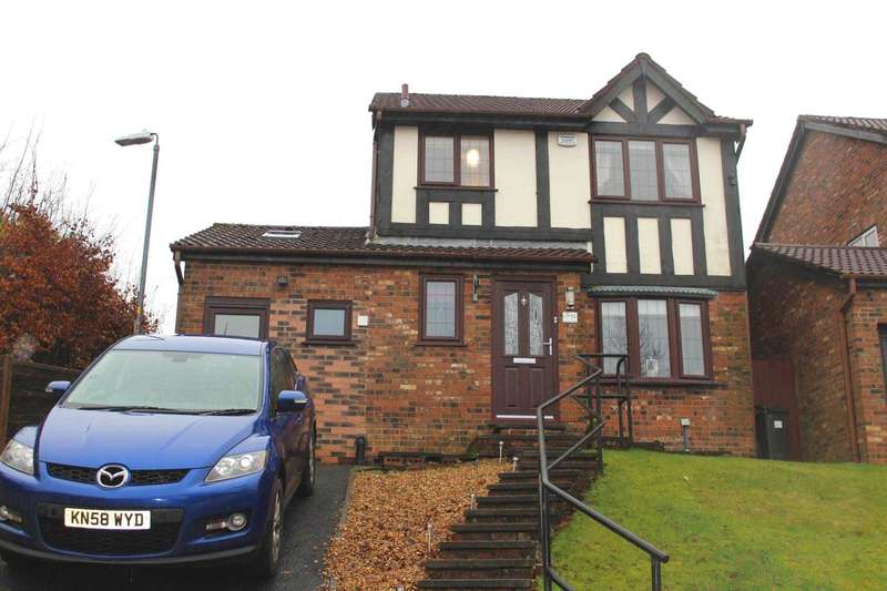 4 Bedrooms Detached House for sale in Christ Church Lane, Harwood