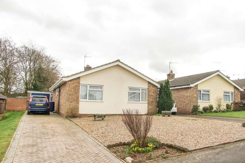 2 Bedrooms Detached Bungalow for sale in Maltings Close, Moulton