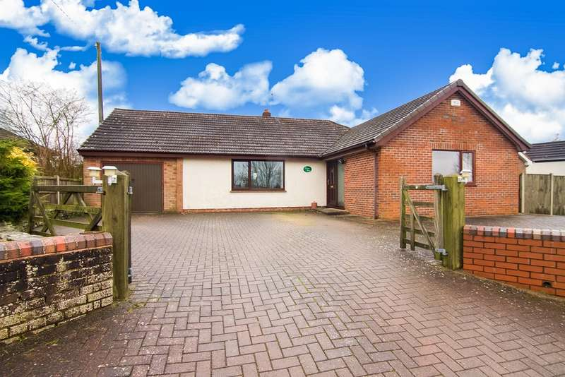 4 Bedrooms Detached Bungalow for sale in The Patches, Ruardean Woodside, Ruardean