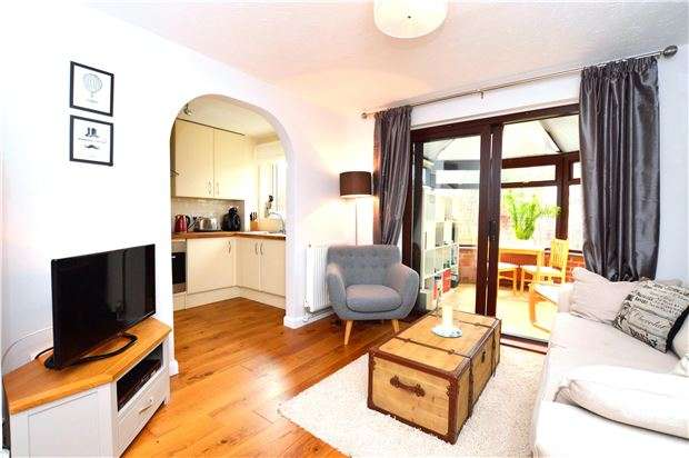1 Bedroom Terraced House for sale in Gibson Close, ABINGDON, Oxfordshire, OX14 1XT