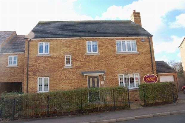 4 Bedrooms Detached House for sale in Howards Way, Moulton Park, Northampton NN3 6RP