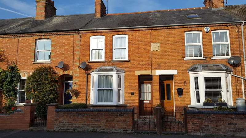 2 Bedrooms Terraced House for sale in Cowper Street, Olney MK46