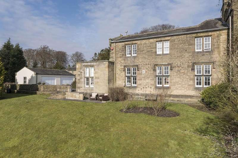 4 Bedrooms Country House Character Property for sale in The West Wing, Angerton Hall, Hartburn, Morpeth, Northumberland NE61