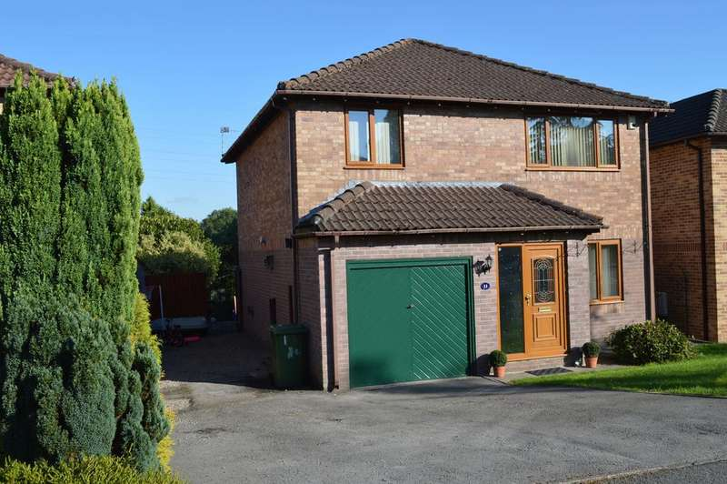 4 Bedrooms Detached House for sale in Glan Cregiau, Groesfaen CF72