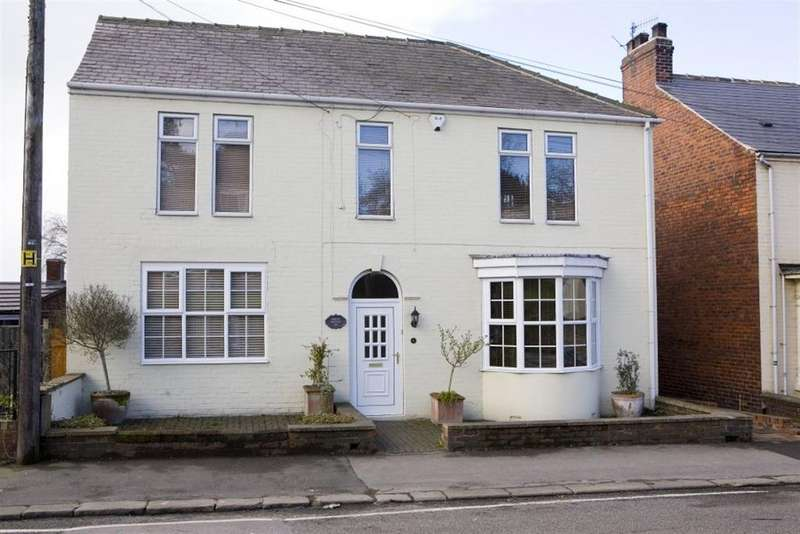 4 Bedrooms Detached House for sale in Field House, Prospect Road, Old Whittington, Chesterfield, Derbyshire, S41 9DE