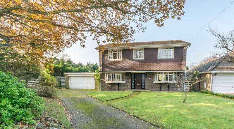 4 Bedrooms Detached House for sale in Hamble Close, Warsash, Southampton SO31