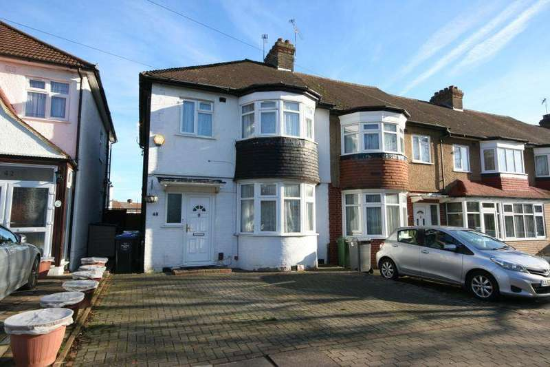 3 Bedrooms End Of Terrace House for sale in South Kenton HA9 8RJ