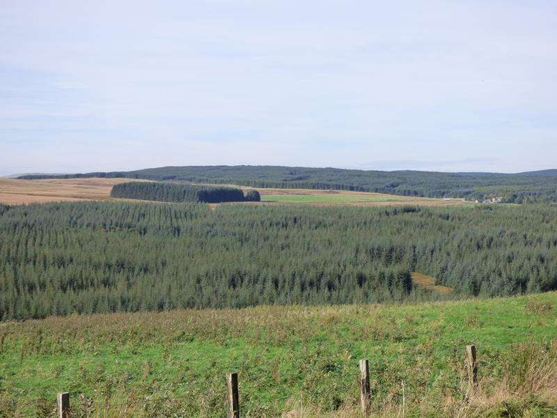 Land Commercial for sale in Glentaggart South Forest, Near Douglas, South Lanarkshire M11