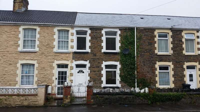 3 Bedrooms Terraced House for sale in 92 Hunter Street, Briton Ferry, Neath