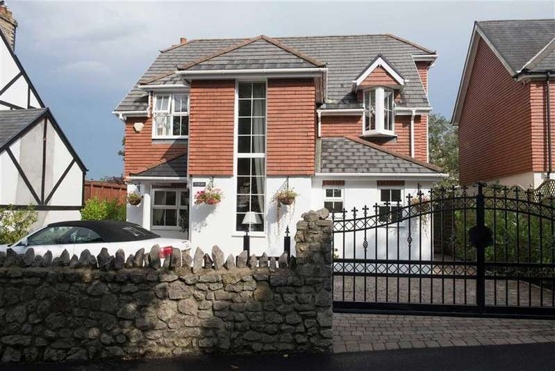 4 Bedrooms Detached House for sale in Harbour Winds Court, Overland Road, Mumbles