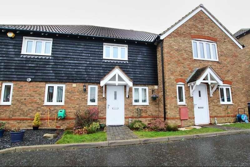 2 Bedrooms Terraced House for sale in Shetland Close, Hailsham BN27