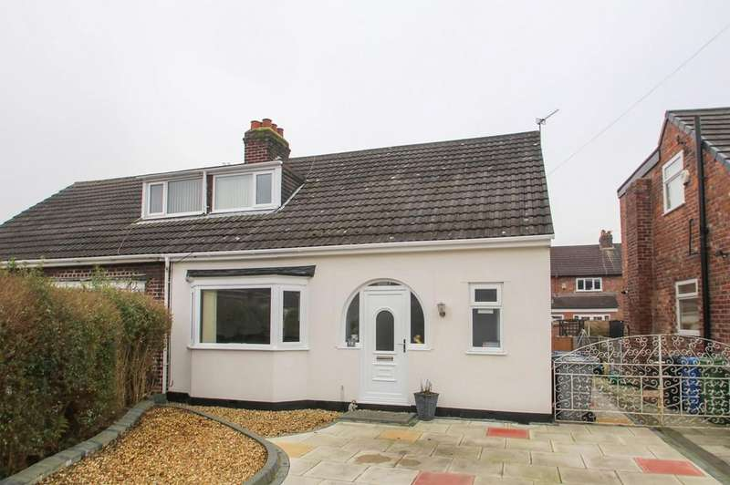 2 Bedrooms Semi Detached House for sale in Woodlands Avenue, Flixton, Manchester, M41
