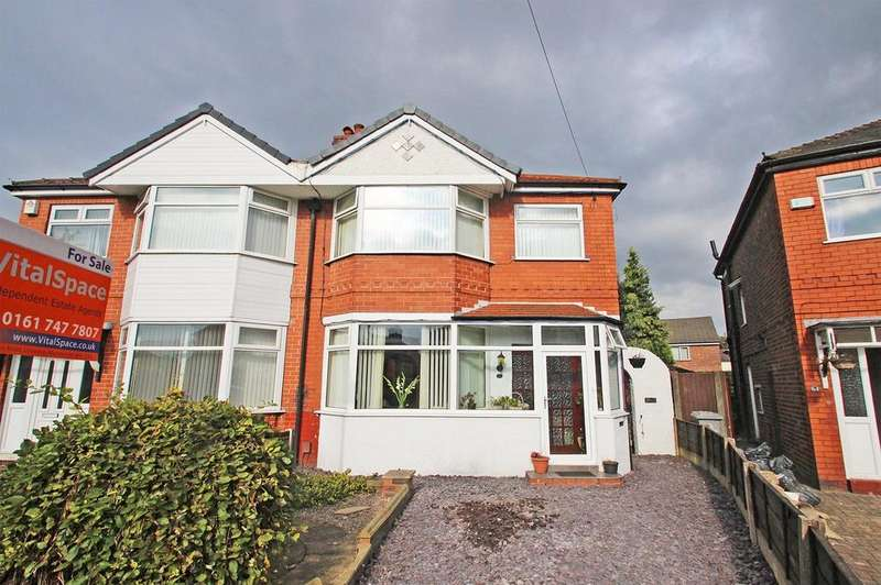 3 Bedrooms Semi Detached House for sale in Marlborough Road, Stretford, Manchester, M32