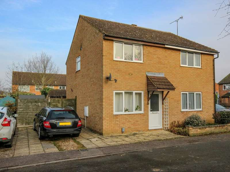 2 Bedrooms Semi Detached House for sale in Derwent Rise, Flitwick, Bedford, MK45