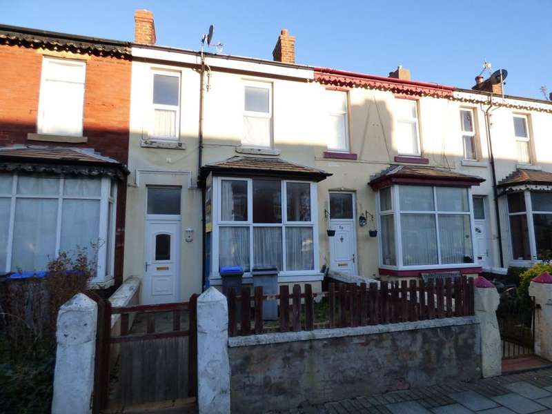 3 Bedrooms Terraced House for sale in Victory Road, Blackpool