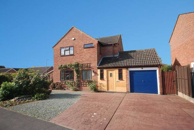 3 Bedrooms Detached House for sale in Somerset Close, Melton Mowbray