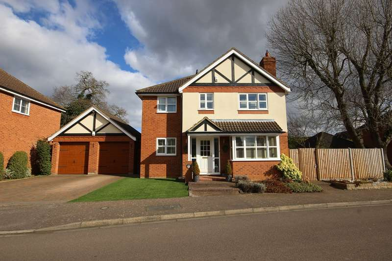 4 Bedrooms Detached House for sale in Hedley Way, Maulden, Bedford, MK45