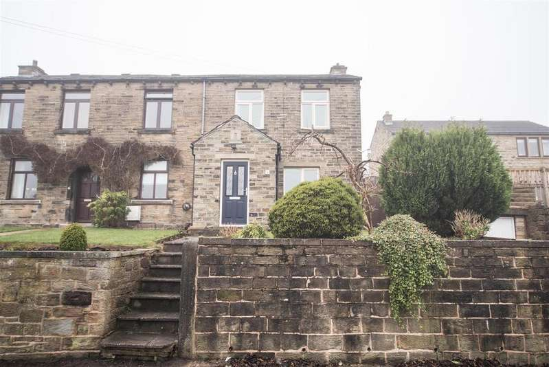 3 Bedrooms Semi Detached House for sale in Saville Road, Skelmanthorpe, Huddersfield, HD8 9ED