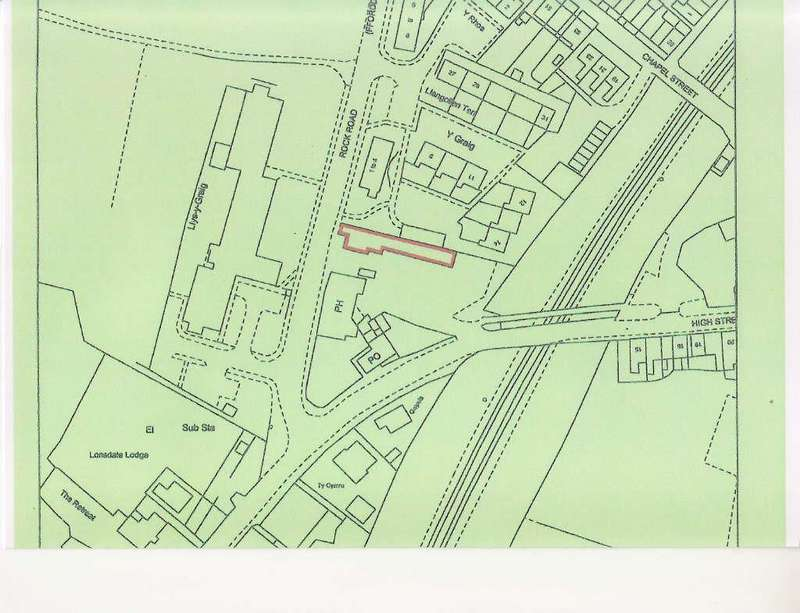 Plot Commercial for sale in Rhosymedre