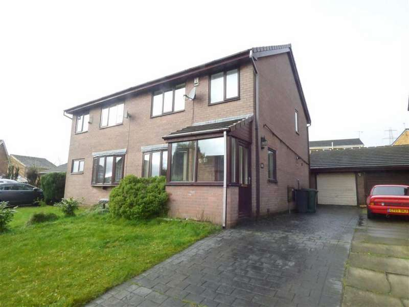 2 Bedrooms Semi Detached House for sale in The Moorlands, Weir, Bacup, Lancashire, OL13