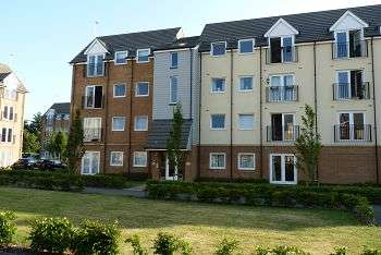 2 Bedrooms Flat for sale in Principal Court, Scholars Walk, Cosham, Portsmouth, PO6 2BW