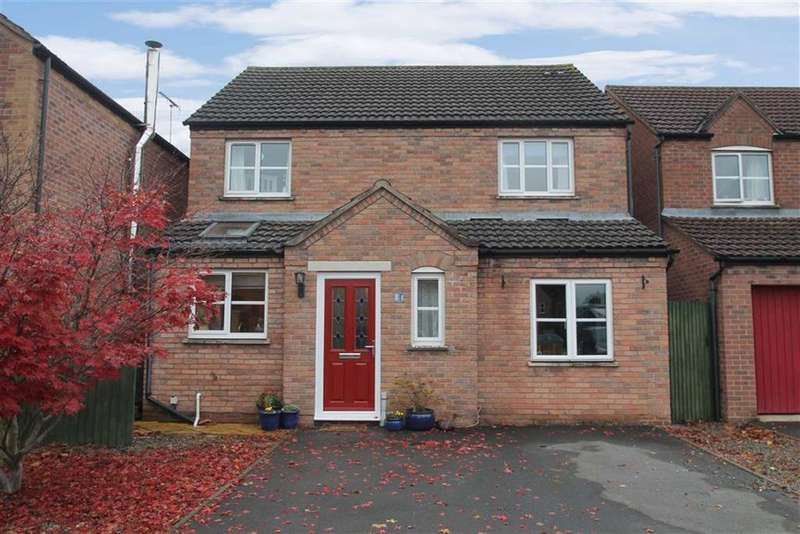 4 Bedrooms Detached House for sale in Battlebridge Close, LEOMINSTER, Leominster, Herefordshire