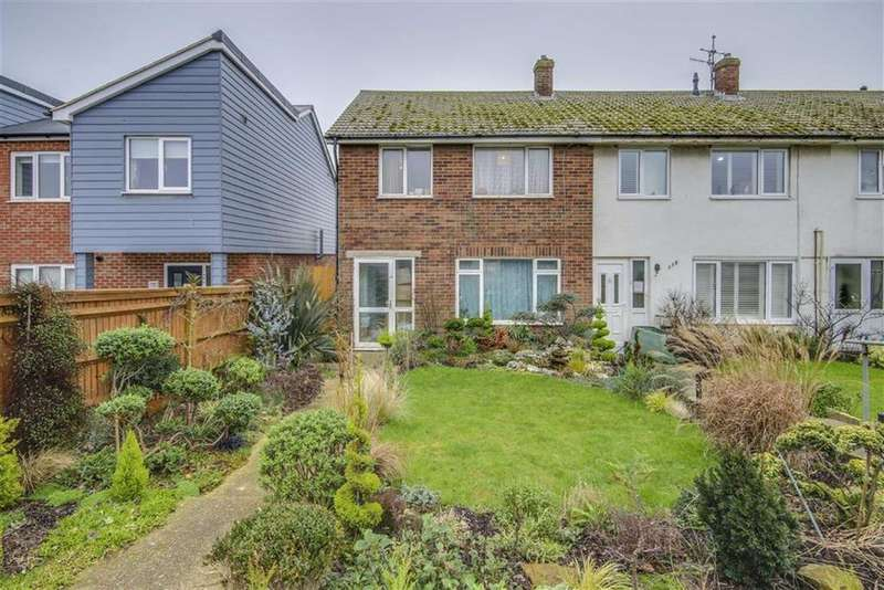 3 Bedrooms End Of Terrace House for sale in South Coast Road, Peacehaven