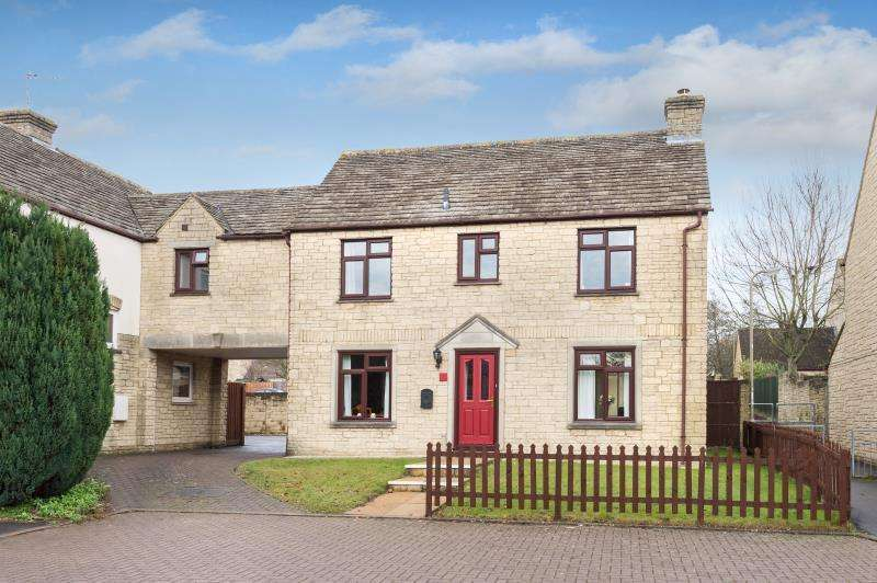 4 Bedrooms Detached House for sale in Rissington Drive, Witney, Oxfordshire
