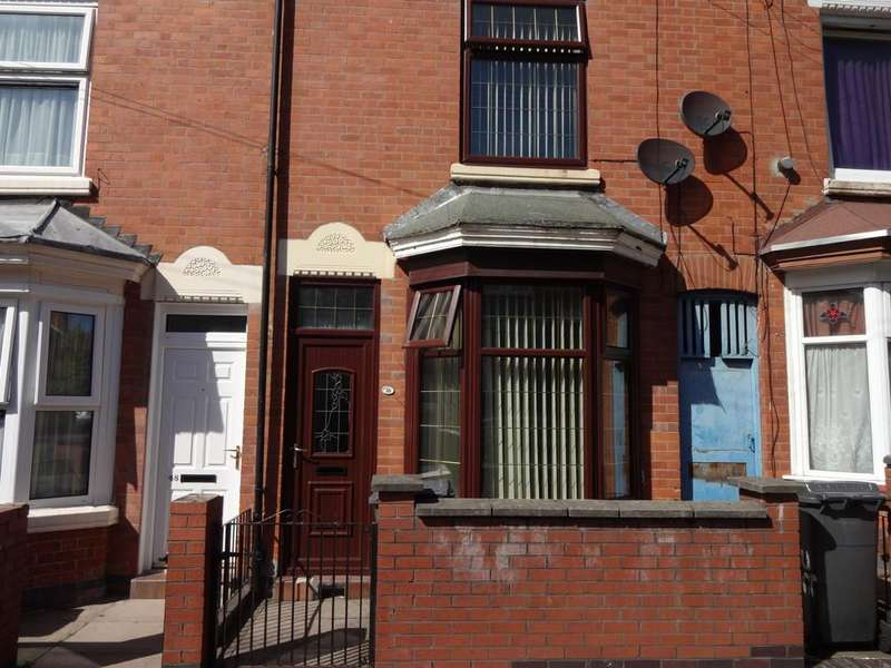 2 Bedrooms Terraced House for sale in Beaumont Road, Leicester, Leicestershire