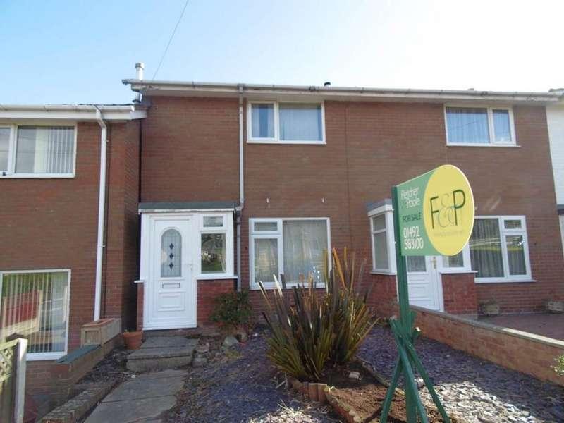 2 Bedrooms Terraced House for sale in Llanrwst Road, Gyffin, LL32 8HP