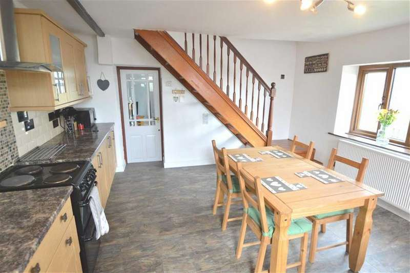 2 Bedrooms End Of Terrace House for sale in Priestley Hill, Queensbury BD13, Queensbury