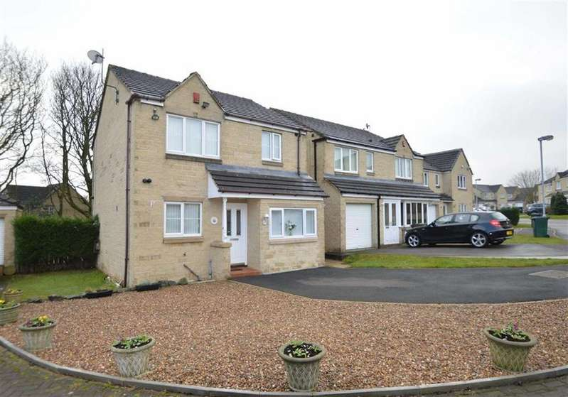 3 Bedrooms Detached House for sale in Bunting Drive, Clayton Heights, Bradford