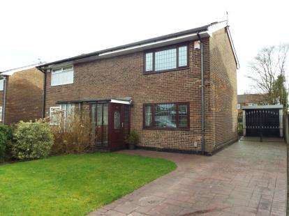 2 Bedrooms Semi Detached House for sale in Edinburgh Road, Little Lever, Bolton, Greater Manchester, BL3