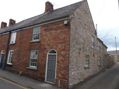 3 Bedrooms End Of Terrace House for sale in Chapel Street, Denbigh, Denbighshire, North Wales, LL16