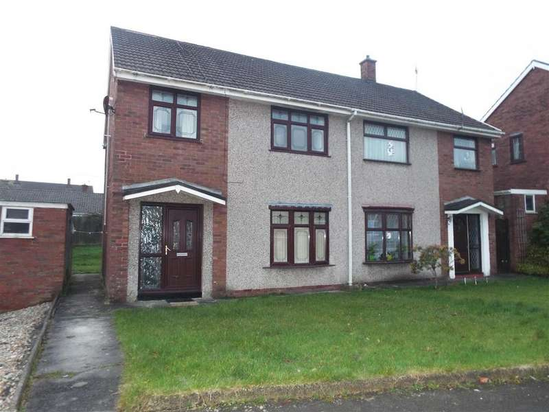 3 Bedrooms Semi Detached House for sale in Gorsedd, Llanelli