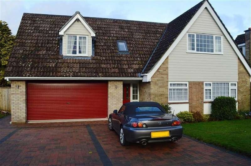 4 Bedrooms Detached House for sale in Cobham Way, Wimborne, Dorset