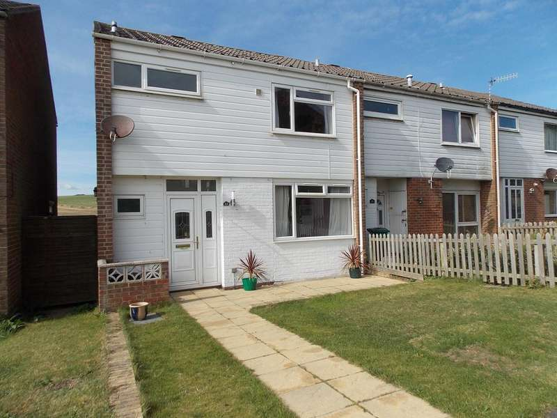 4 Bedrooms End Of Terrace House for sale in Warren Way, Telscombe Cliffs,