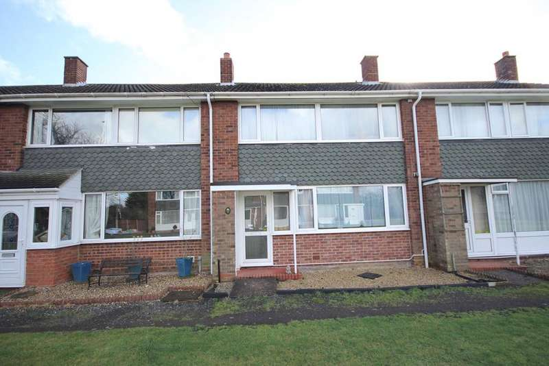 3 Bedrooms Terraced House for sale in Hall Way, Cotton End , MK45