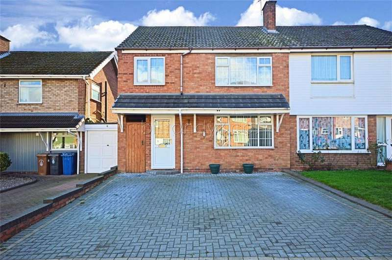 4 Bedrooms Semi Detached House for sale in Nailers Drive, Burntwood, Staffordshire