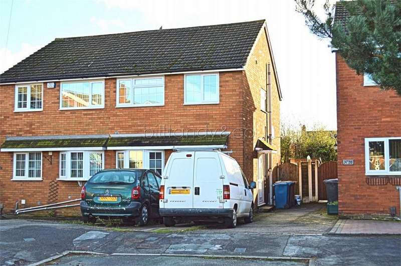 3 Bedrooms Semi Detached House for sale in Woodford Crescent, Burntwood, Staffordshire