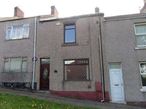 2 Bedrooms Terraced House for sale in VERDUN TERRACE, WEST CORNFORTH, SEDGEFIELD DISTRICT