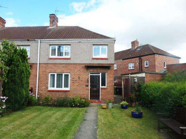 3 Bedrooms Semi Detached House for sale in WEST VIEW, BISHOP MIDDLEHAM, SEDGEFIELD DISTRICT