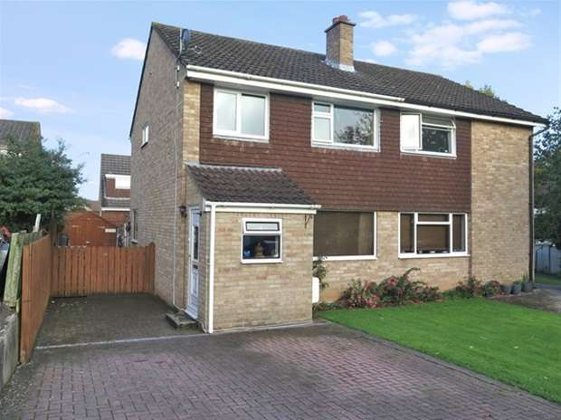 3 Bedrooms Semi Detached House for sale in Spring Rise, Wells