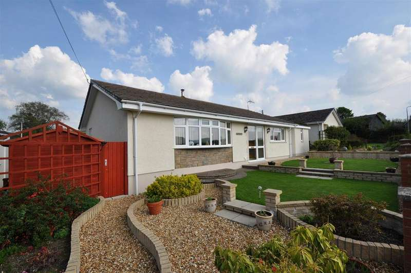 2 Bedrooms Detached Bungalow for sale in St. Harmon, Rhayader