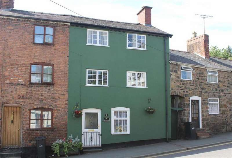 4 Bedrooms Terraced House for sale in Mount Street, Welshpool