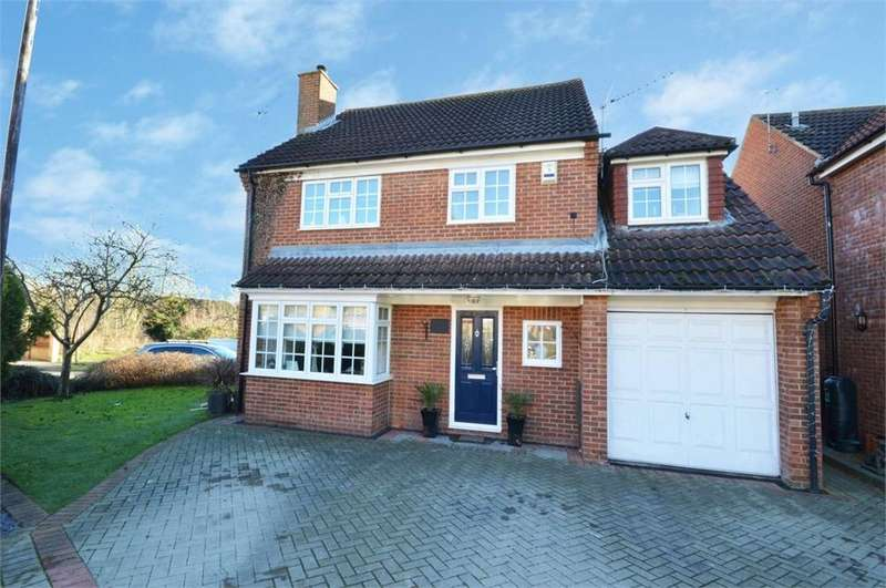4 Bedrooms Detached House for sale in Dawson Drive, Hextable