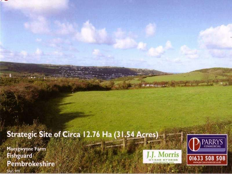 Land Commercial for sale in Development Site at Maesgwynne, Fishguard, Pembrokeshire